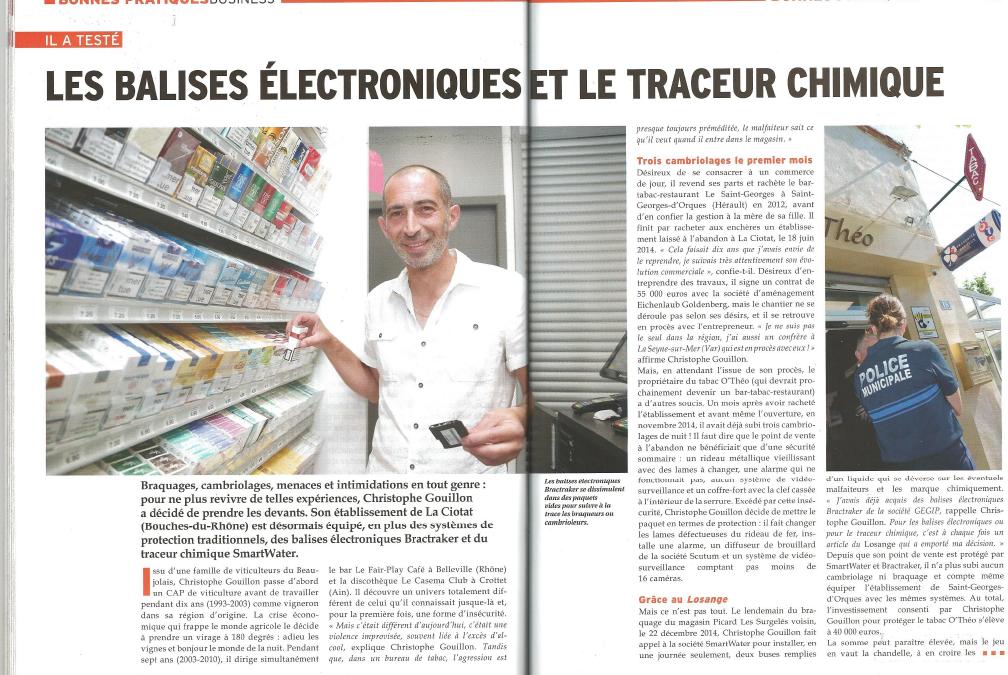 Les balises électroniques et le traceur chimique