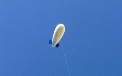 Les ballons captifs, une solution de vidéosurveillance embarquée innovante
