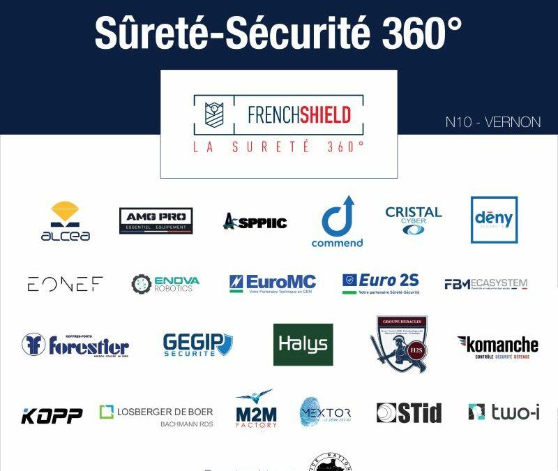 GEGIP Sécurité soutient le FRENCHSHIELD et sera présent au 1er salon professionnel de la sûreté-sécurité le 16 septembre 2021 à Vernon