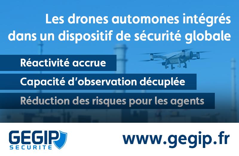 Drones et intelligence artificielle, le combo gagnant des dispositifs de sécurité